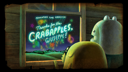Title Card S6E13 Thanks for the Crabapples, Giuseppe.png