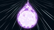 Comète violette