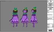 Modelsheet purpleprincess