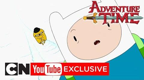 Frog Seasons Winter Adventure Time Cartoon Network