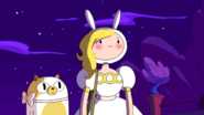 S3e9 Fionna and Cake arrive at ball