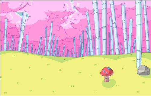 Лес сладкой ваты
