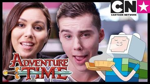 Adventure Time Minecraft Episode Sneak Peek with Olivia Olson and Jeremy Shada Cartoon Network