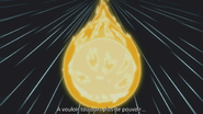 Comète catalyste jaune