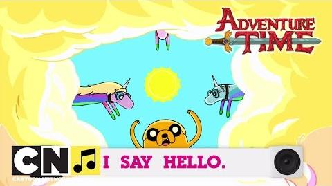Adventure Time Decorating Song – Toon Tunes Songs Cartoon Network