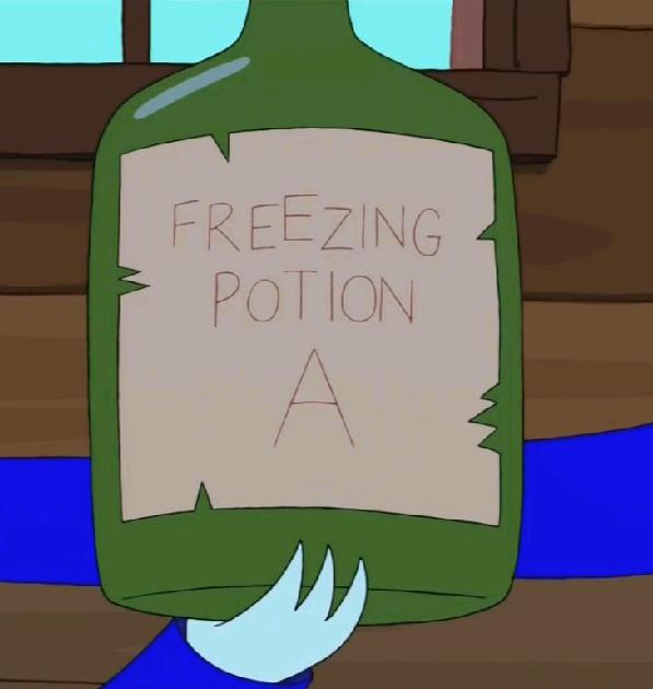 Замораживающее зелье А