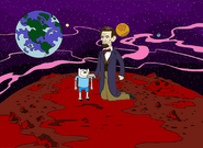 Mars in animated short
