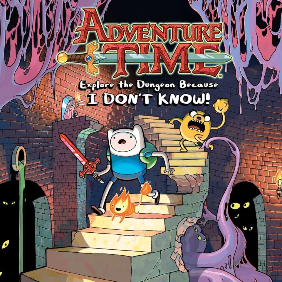 Время Приключений: Исследуйте подземелье, потому что я НЕ ЗНАЮ!