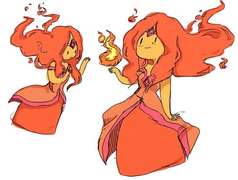 Пламенная Принцесса