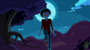 S5e11 Marshall floating in front of moon