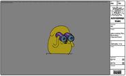 Modelsheet jake looking thru binoculars