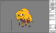 Modelsheet Jake in Beat-up -2 with Mud and Bumpkin Burns