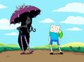 S1e22 Marcy with umbrella