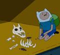 S7e10 finn and skeleton