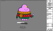 Modelsheet lumpyspaceprincess inxmassweater withrims
