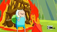 S4e16 Finn n FlamePlaughing