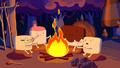 S7e22 marshmallow kids campfire