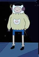 Finn in sweater