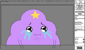 Modelsheet Lumpy Space Princess Crying - Special Pose