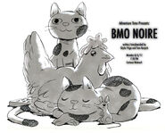 B-Mo Noire promo art