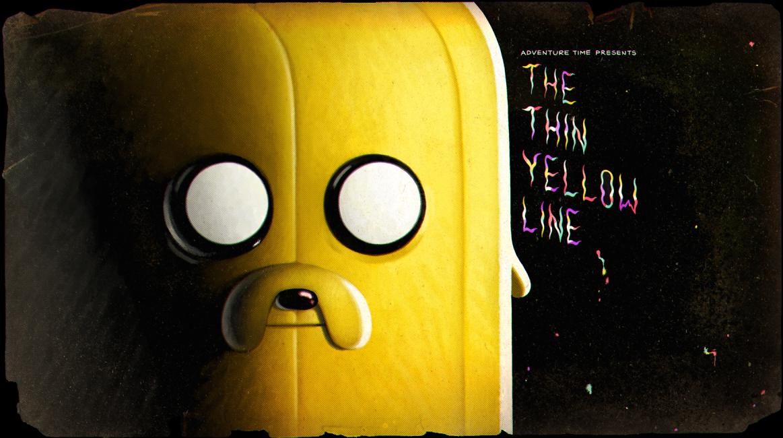 Тонкая жёлтая линия