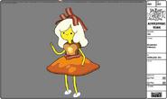 Modelsheet Breakfast Princess