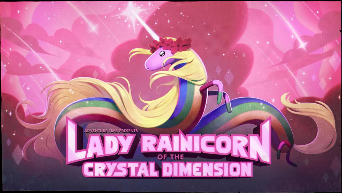 Леди Ливнерог и Кристальное измерение