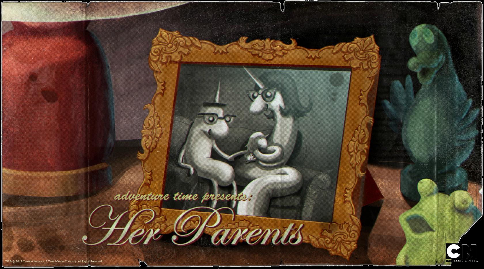 Её родители