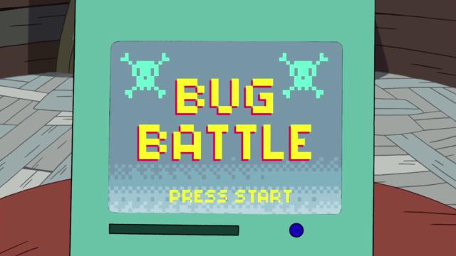 Сражение с жуками
