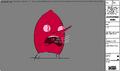Modelsheet Earl of Lemongrab with Red Head