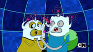 S2e14 finn and jake video game hats