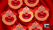 S3e23 disembodied Clown Nurse heads