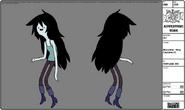 Modelsheet Marceline - New Costume -3