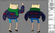 Modelsheet finn inxmassweater withrims