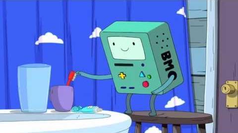 Adventure Time - Bmo the Little Living Boy