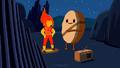 S6e28 Flame Princess and Cinnamon Bun