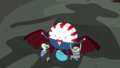 S6e15 Peppermint Butler with Peace Master's kids