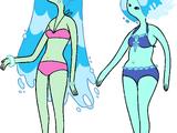 Nymphes des eaux