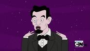 S4e15 Abe talking about Magic Man's misdeeds