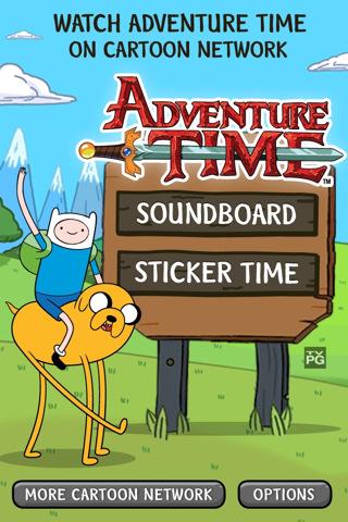 Adventure Time - Soundboard & Photo Stickers