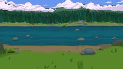 Кислотная река