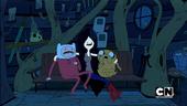 S1e12 Marceline scaring Finn and Jake