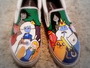 My adventure time shoes by samelsr-d4snefe