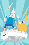 Finn and jake fanartooo by watertae-d465lm1