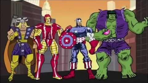 Mad hora de los vengadores avenger time español latino