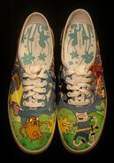 Adventure time shoes 1 by simonbagel-d4k9var