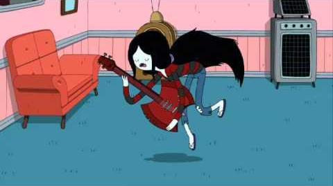 Canción 'El papi de Marceline' en esp. - Llegó desde la nocheosfera - HdA - Cartoon Network