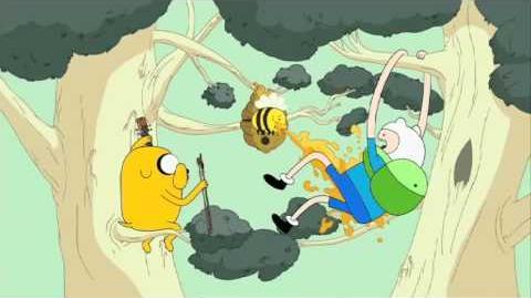 Canción 'Finn y Jake buscan casa' en español - Desahuciados - Hora de Aventuras - Cartoon Network