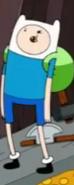 Finn looking uncomfortable