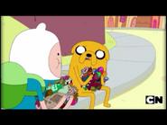 Jake explains to Finn what happened